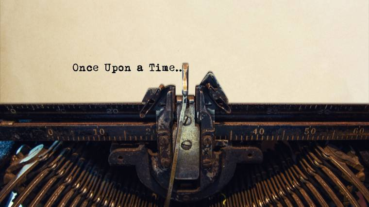 Once upon a time... written by a typewriter