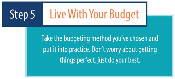 Live with your budget
