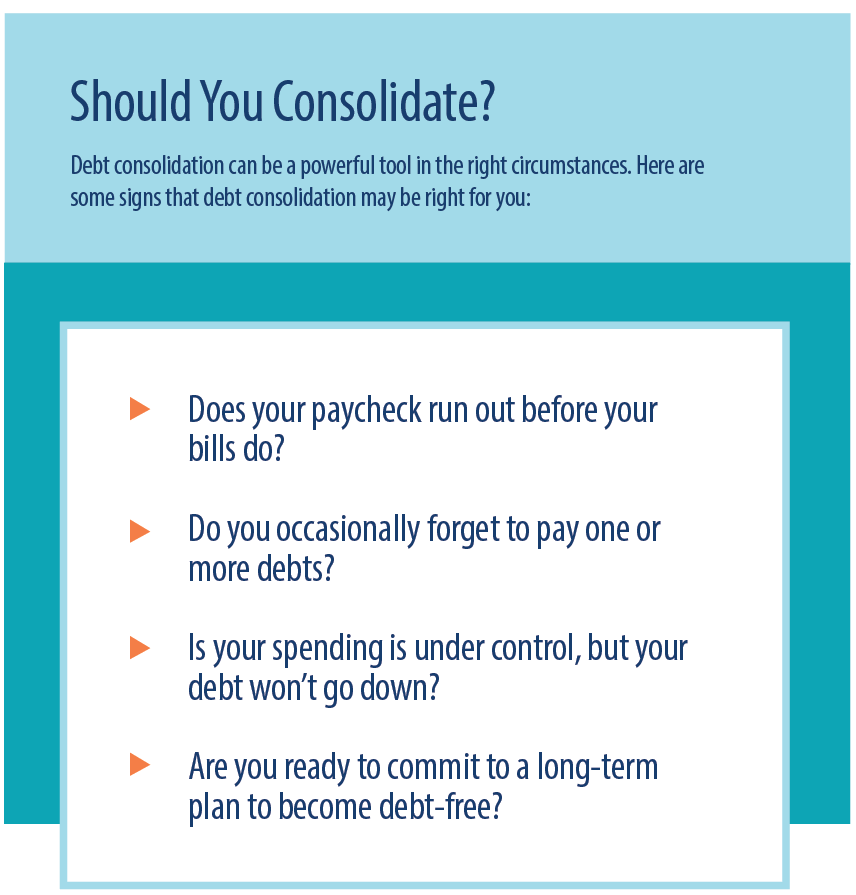 Should you consolidate your debt?