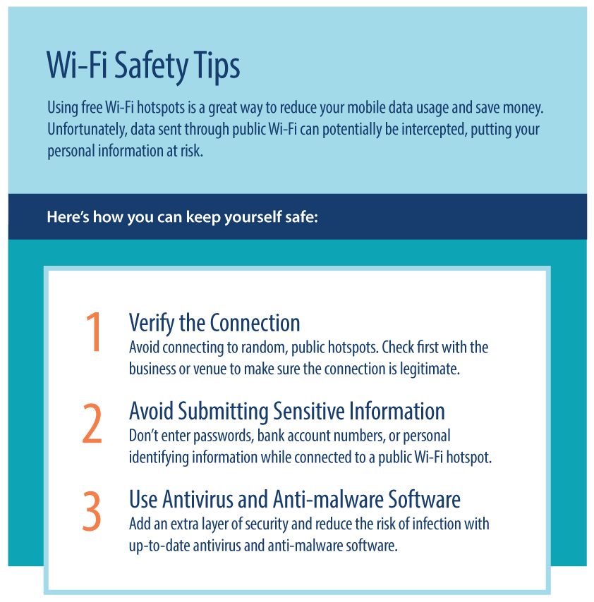 Important Wi-Fi safety tips