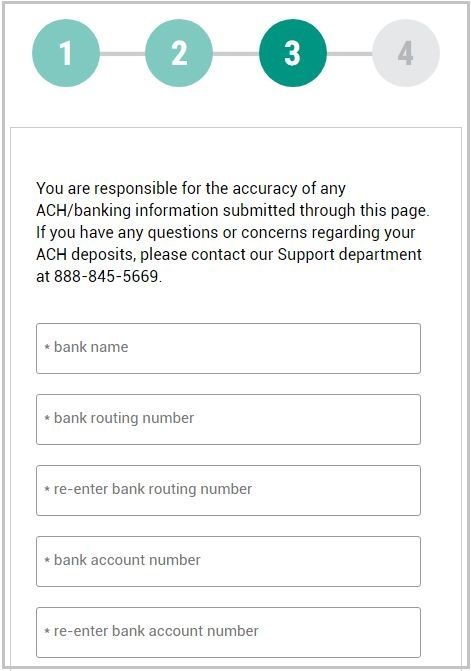 instructions for MMI clients - entering your banking account info
